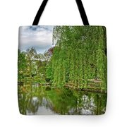 View Of A Botanical Garden, Krakow Tote Bag