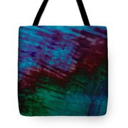 View From In  A Rain Storm Tote Bag