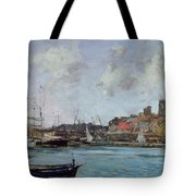 View Of Antibes Tote Bag