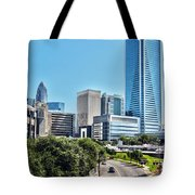 view of Charlotte North Carolina Tote Bag