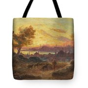 View Of Constantinople Tote Bag