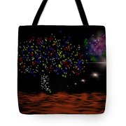 View Of Euphrate Tote Bag