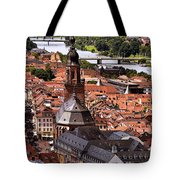 View Of Heidelberg Tote Bag