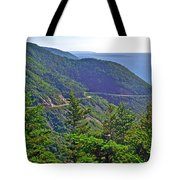 View Of Highlands Road From Skyline Trail In Cape Breton Highlands Np-ns Tote Bag