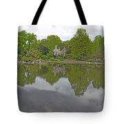 View Of Japanese Garden, Wroclaw, Poland Tote Bag