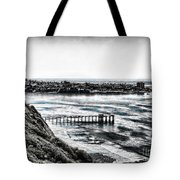 View Of La Jolla From Torrey Pines Cliffs Tote Bag