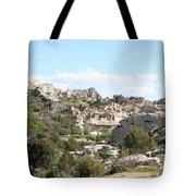 View Of Les Baux De Provence Tote Bag