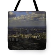 view of London within the Clouds Tote Bag
