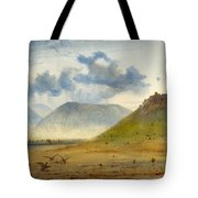 View Of Marathon Tote Bag