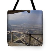 View Of Meteora From The Monastery   #9722 Tote Bag