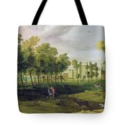 View Of Nonsuch Palace In The Time Tote Bag