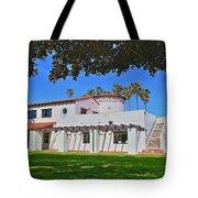 View Of Ole Hanson Beach Club San Clemente Tote Bag