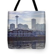 View Of Pier 70 Tote Bag