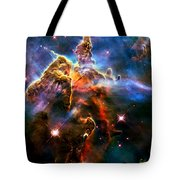 View Of Pillar And Jets Hh 901902 Tote Bag