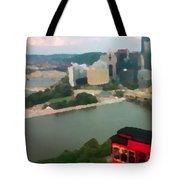 View Of Pittsburgh From Mt. Washington Tote Bag