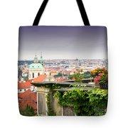 View Of Prague Tote Bag