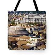 View Of Rome's Rooftops Tote Bag