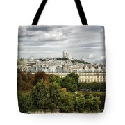 View Of Sacre Coeur From The Musee D'orsay Tote Bag