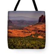 View Of Sedona From The East Tote Bag
