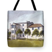 View Of Sir Noel De Carons House, 1809 Wc On Paper Tote Bag