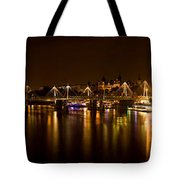 View Of Thames River From Waterloo Tote Bag