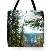 View Of The Canyon Tote Bag