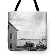 View Of The Harbor Tote Bag