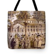 View Of The Jubilee Ball, Ranelagh Tote Bag
