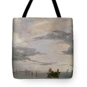 View Of The Lagoon Near Venice, 1826  Tote Bag