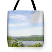 View Of The Mountains Of Alabama Tote Bag