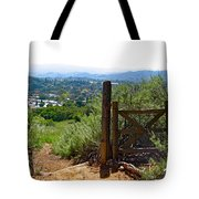 View Of The Ojai Valley Tote Bag
