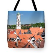 View Of The Old Town With St. Martins Tote Bag