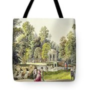 View Of The Temple Of Diana At Erlaw Tote Bag