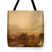 View Of Thebes Tote Bag