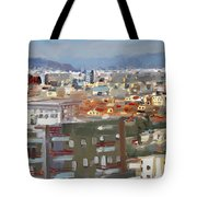 View Of Tirana From Dajti Mountain Tote Bag