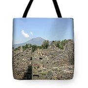View Of Vesuvius Tote Bag