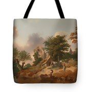 View On The Medway Tote Bag
