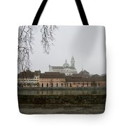 View Over Aare River Tote Bag