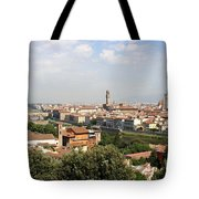 View Over Florence Tote Bag