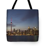 View Over Lake Ontario Of The Downtown Tote Bag