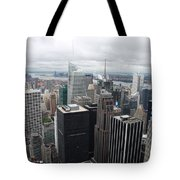 View Over Manhattan  Tote Bag