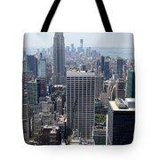 View Over Manhattan I Tote Bag