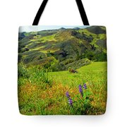 View Over Neverland Tote Bag
