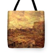 View Over Siena And San Domenico Tote Bag