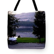 View To Columbia Tote Bag