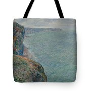 View To The Sea From The Cliffs Tote Bag