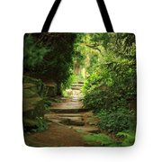 View To The Secret Garden Tote Bag