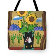 View To The West Tote Bag