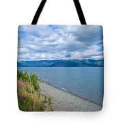 View Two Kluane Lake From Cottonwood Campground Near Destruction Bay-yk Tote Bag