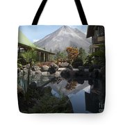 Viewing Arenal Volcano Tote Bag